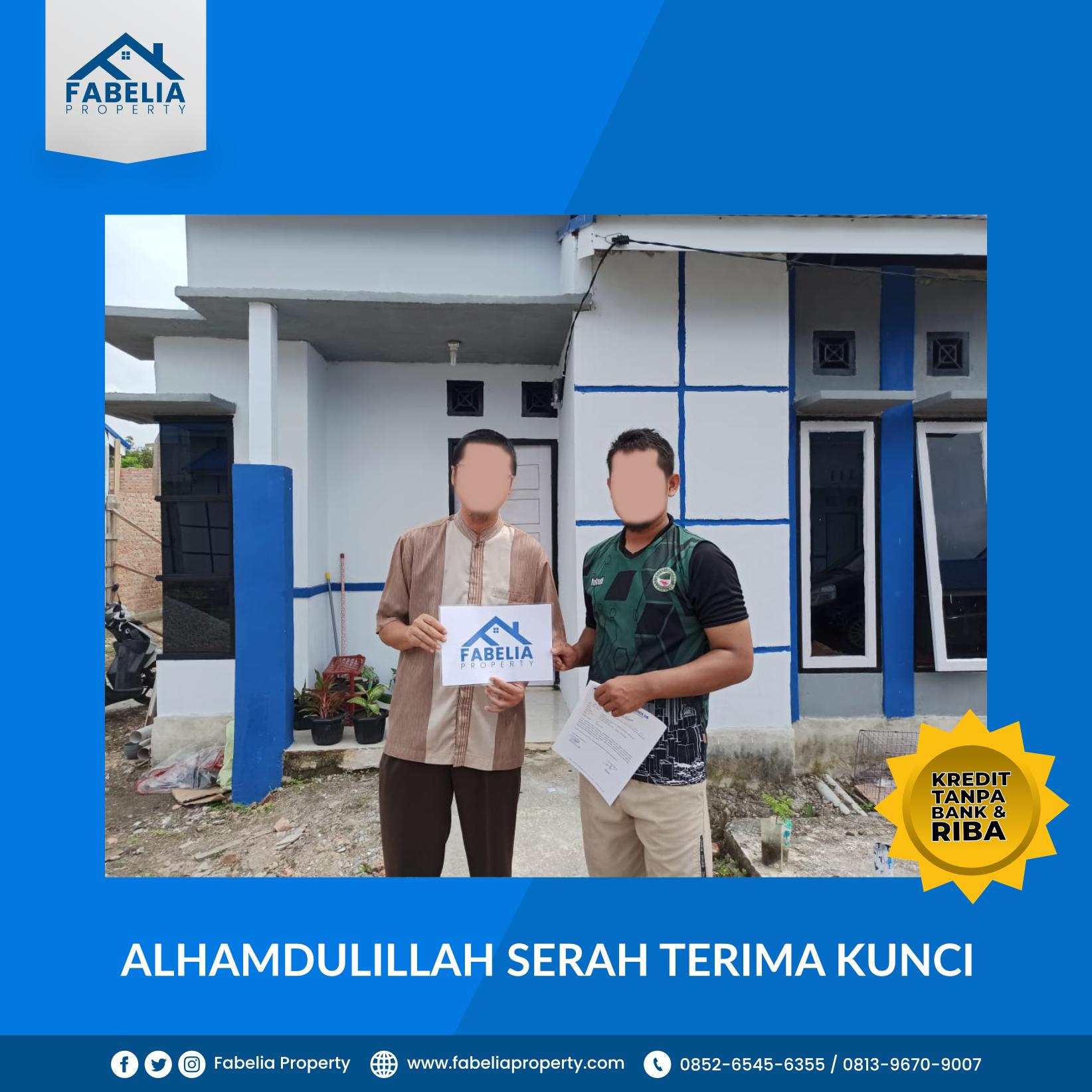 Tahun 2020 Bisa Punya Rumah Tanpa Bank dan Tanpa Riba di Pekanbaru