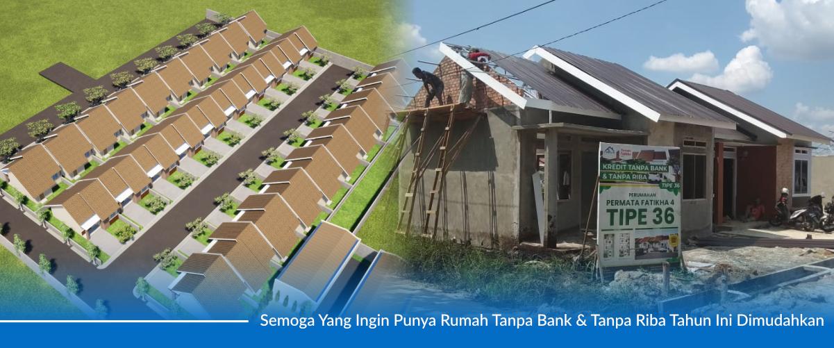 Rumah Tipe 36 Tanpa Bank Pekanbaru